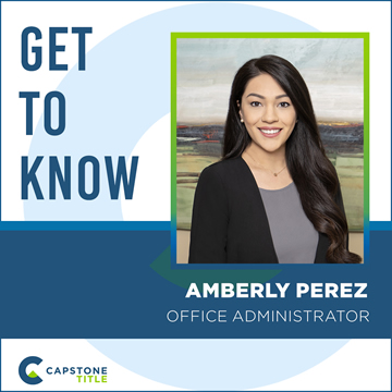 Get to Know Amberly Perez