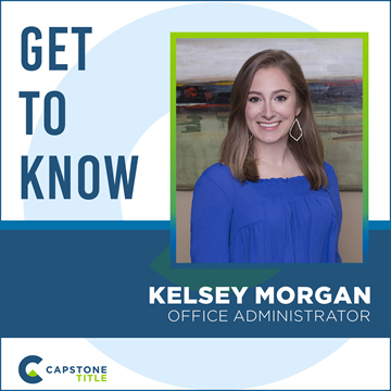 Get to Know Kelsey Morgan